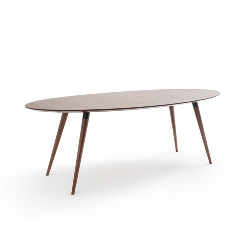 salle a manger masculine meuble deco table ovale en bois
