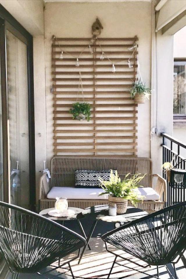 salon de jardin moderne exemple balcon petit espace fauteuil acapluco meuble canapé extérieur