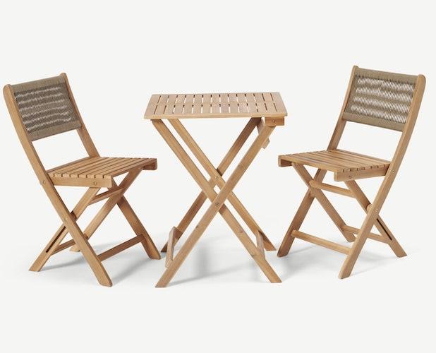 salon jardin pas cher bois moderne table repas et chaises