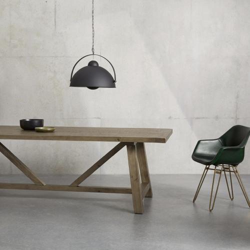 sejour salle a manger table moderne familiale style campagne bois vieilli