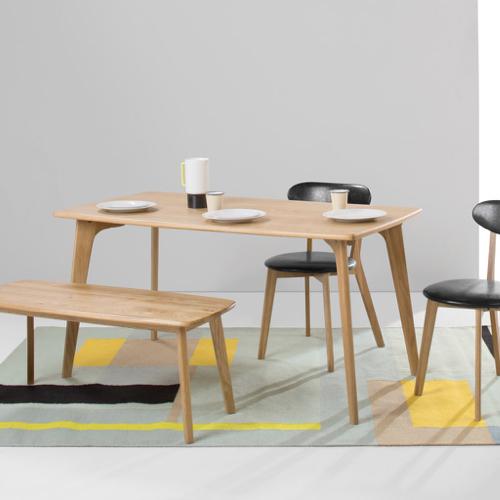 sejour salle a manger table moderne bois original design