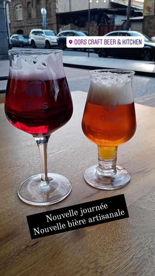 voyage armenie brasserie dors bière artisanale
