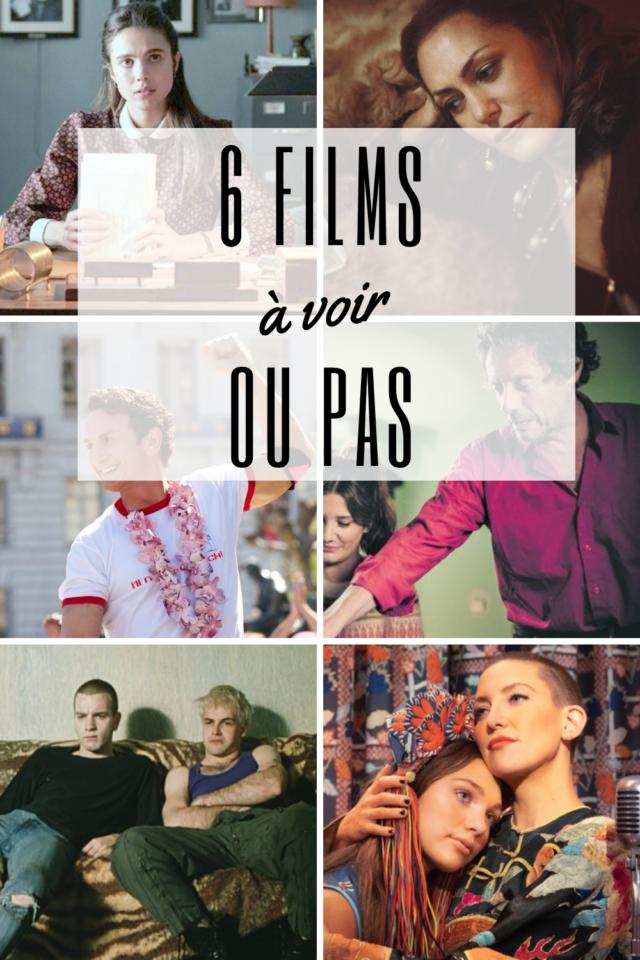 6 films a voir idee tele Netflix sia comédie musicale transpotting Harvey Milk Madame Calude film français américain
