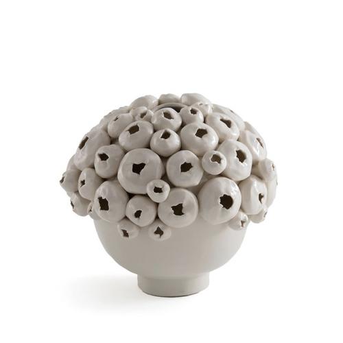 accessoire decoration forme coquillage objet déco beige écru
