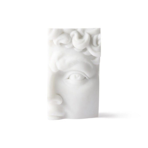 accessoire decoration style neo antique sculpture blanche visage greco romain