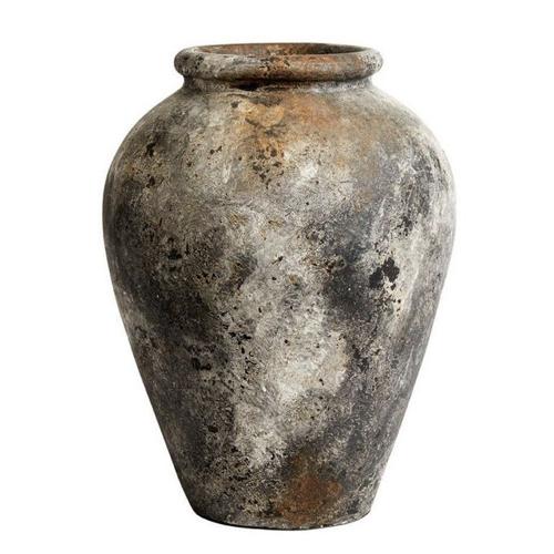 accessoire decoration style neo antique jarre effet ancien grand format