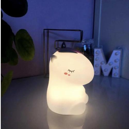 bien choisir veilleuse enfant licorne lumière agréable jaune blanche douce