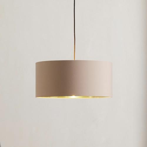 couleur chambre accessoire decoration mobilier luminaire suspension abat-jour rose pastel clair