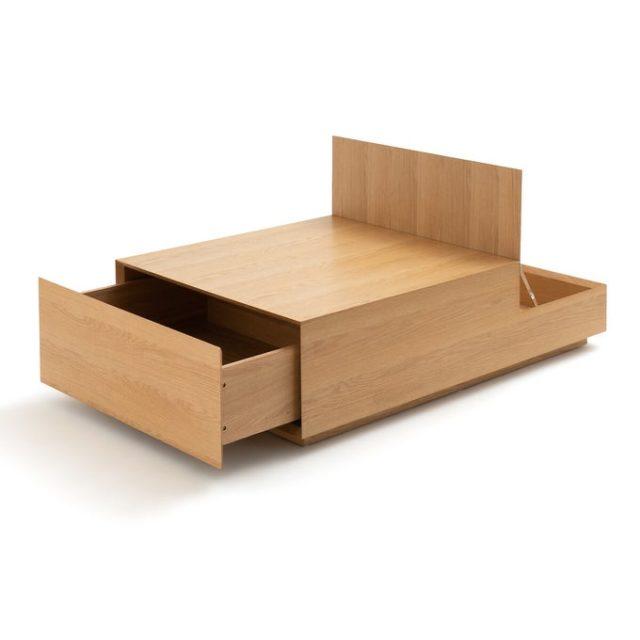creer salon minimaliste facilement table basse gain de place rangement