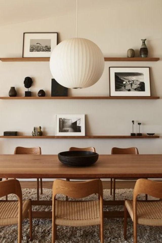 espace repas style japandi salle a manger couleur écru beige ivoire bois