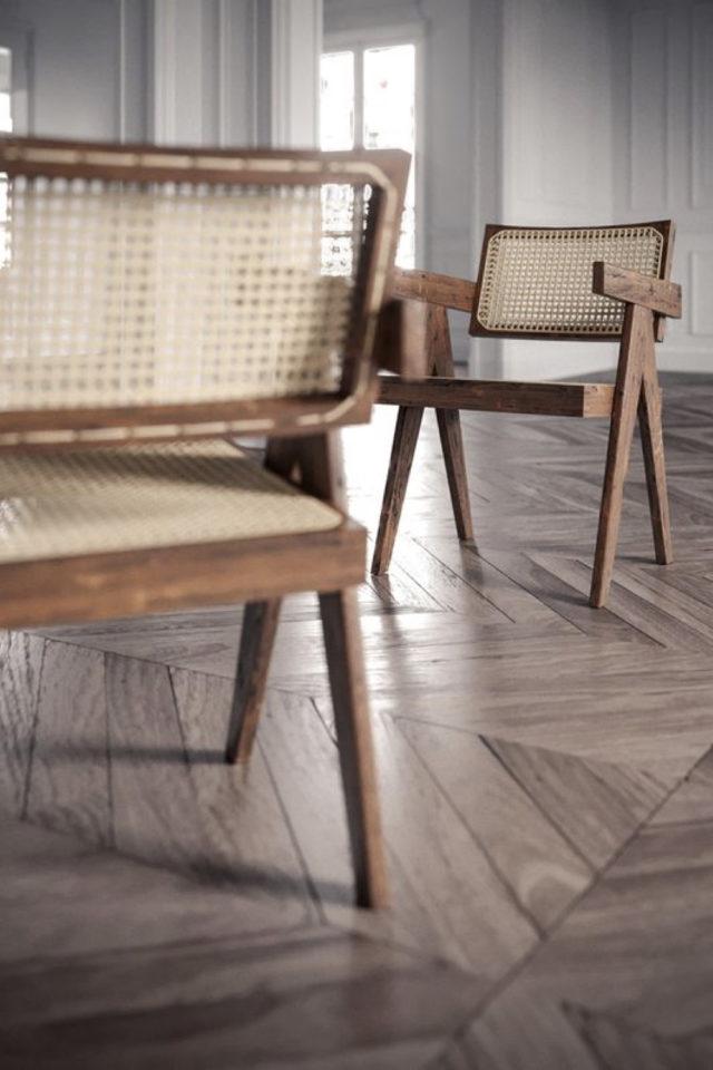 fauteuil tendance deco slow design détail de chaise mid century modern