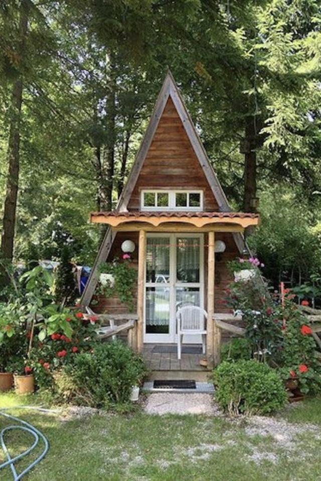 jardin amenagement she shed exemple construction maison en A