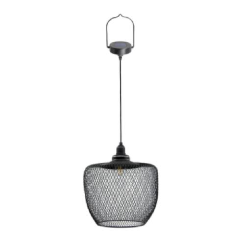 luminaire jardin pas cher design suspension moderne noir