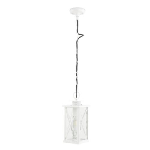 luminaire jardin pas cher suspension style lanterne blanche outdoor extétieur
