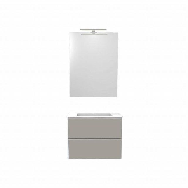 miroir salle de bain double vasque avec lumière intégrée