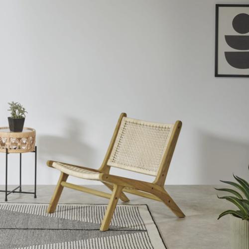 ou trouver fauteuil epure design cannage moderne slow living