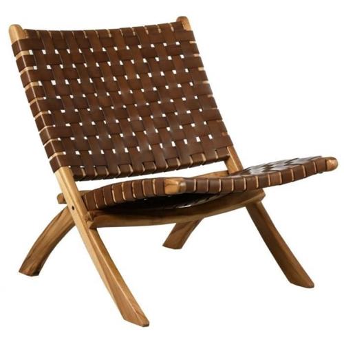 ou trouver fauteuil epure design cannage tressage cuir tendance slow design