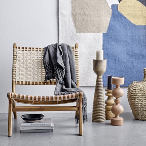ou trouver fauteuil epure design cannage slow life moderne bois et beige
