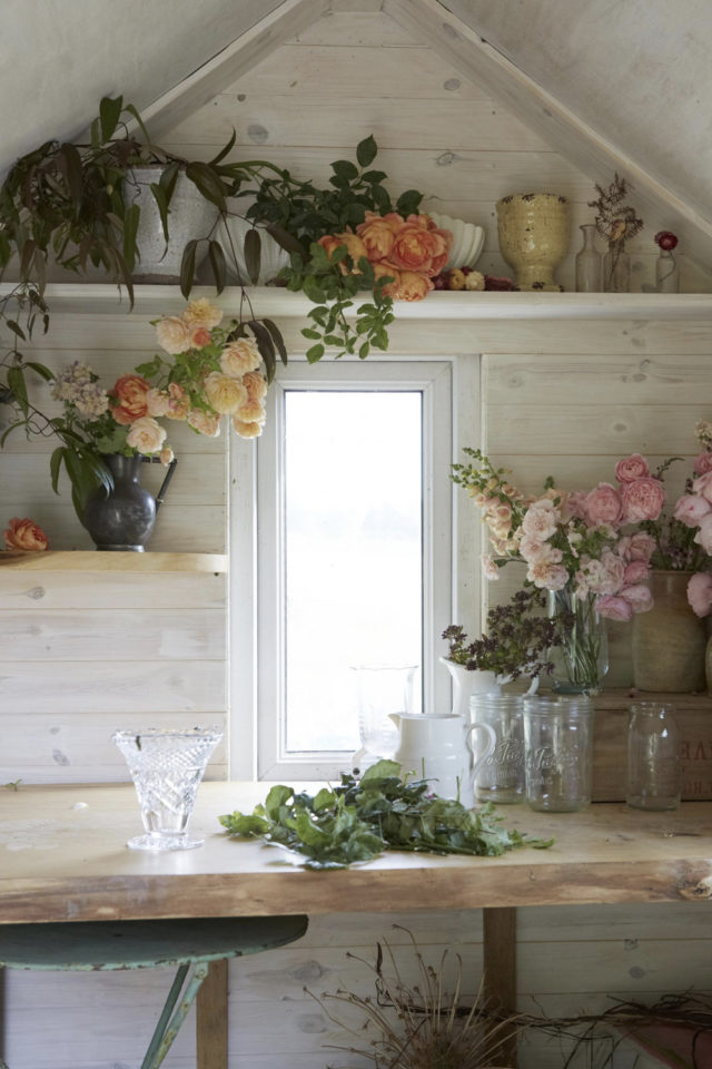 she shed espace a soi jardin passion création florale