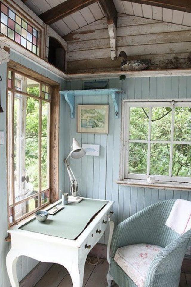 she shed espace a soi jardin espace de travail silence tranquillité bosser à domicile