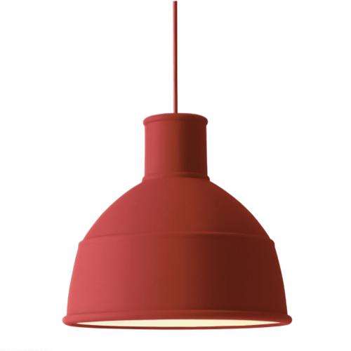 suspension design chambre enfant couleur rouille rouge
