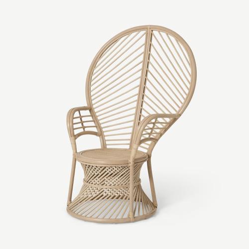 deco ete automne idee fauteuil emmanuelle revisité rotin