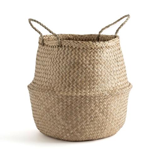 decoration cosy naturelle moderne Panier boule H50 cm pas cher