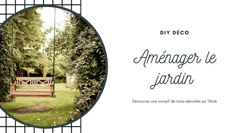 diy video amenagement exterieur terrasse pelouse treillis meuble palette pot de fleur peinture