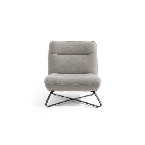 meuble style masculin en soldes Fauteuil enfant en coton, Helma AMPM gris