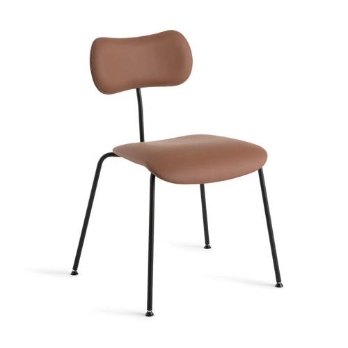 meuble style masculin en soldes Chaise simili - AMPM couleur noisette