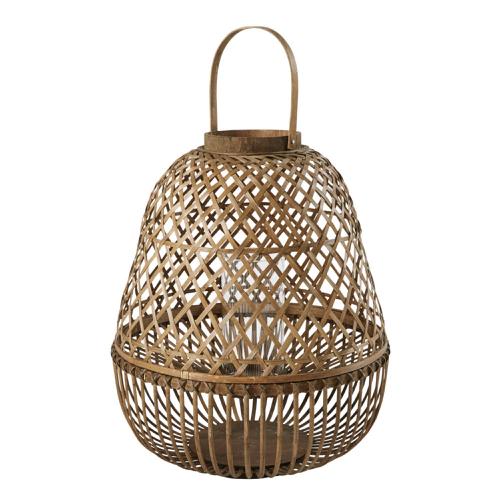 salon cosy meuble accessoires deco Lanterne en bambou H64