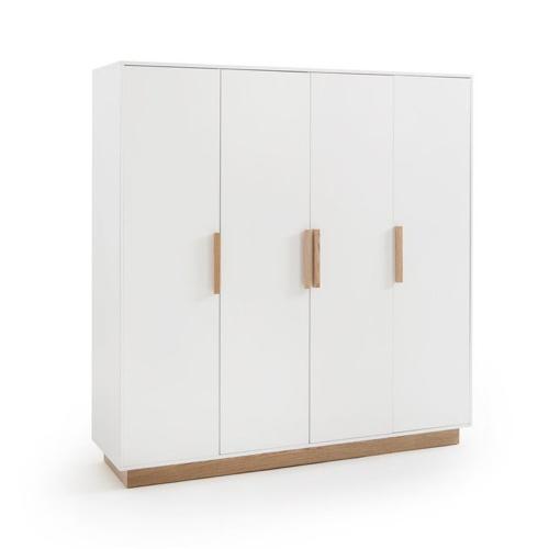 style slow deco mobilier pas cher armoire 4 portes chambre à coucher adulte
