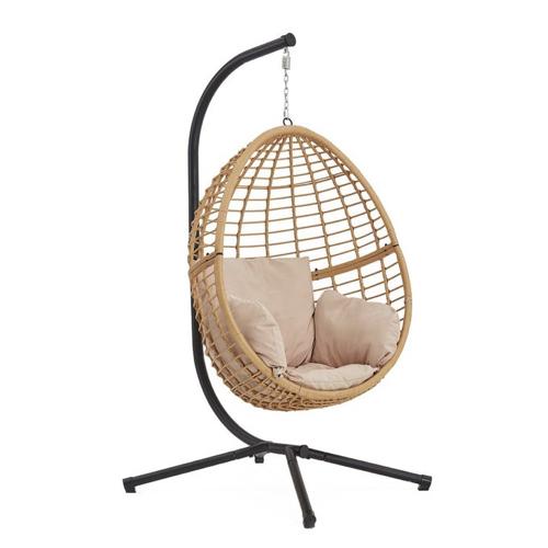 style slow deco mobilier pas cher fauteuil suspendu en rotin moderne