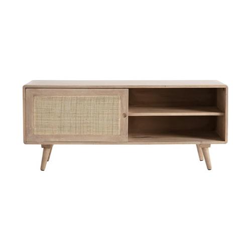 style slow deco mobilier pas cher meuble télévision cannage moderne