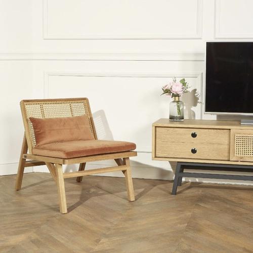 style slow deco mobilier pas cher fauteuil en cannage tendance