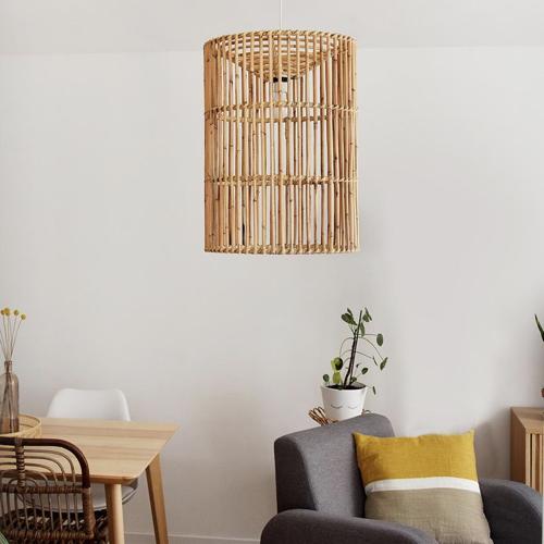 tendance slow living deco pas cher suspension en bambou