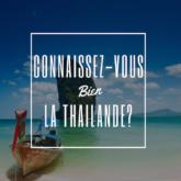 cahier de vacances thailande test quiz culture générale