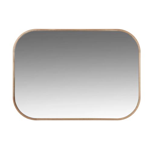deco salle de bain maisons du monde miroir moderne en bois