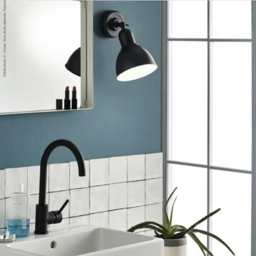 deco salle de bain maisons du monde applique murale noir style industriel