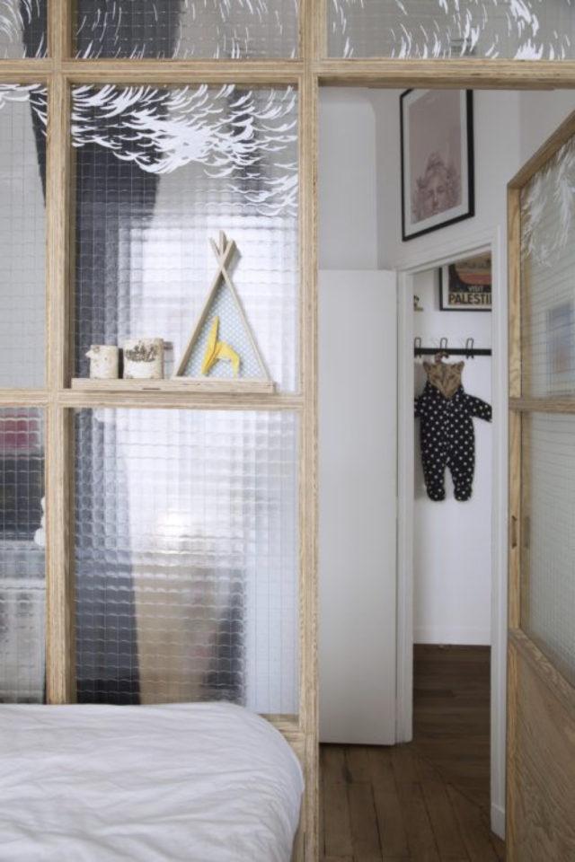 exemple verriere moderne chambre verre granité lumière sans voir