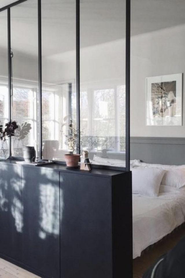 exemple verriere moderne chambre soubassement peinture tranquillité