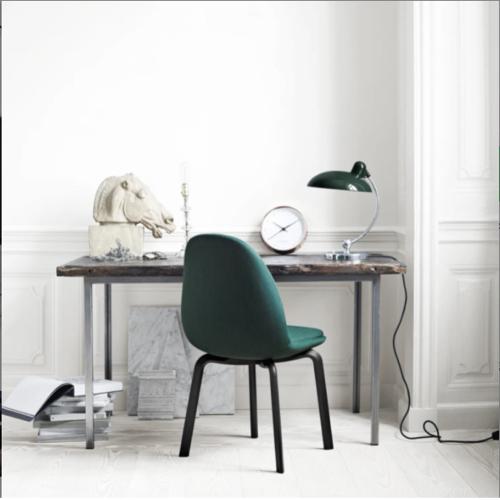 ou trouver lampe bureau design rétro classique vert Fritz Hansen