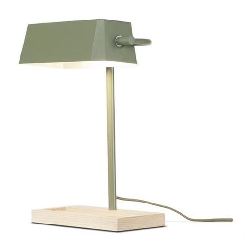 ou trouver lampe de bureau deco Lampe à poser Bois - It's about Romi chez La Redoute couleur Kaki