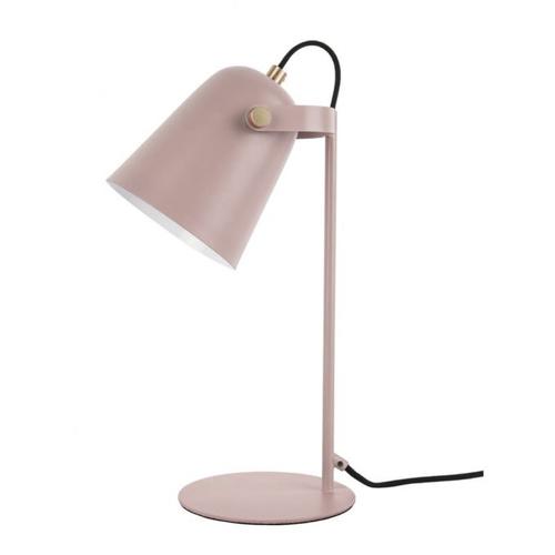 ou trouver lampe de bureau deco Lampe à poser en métal mat Steady vieux rose