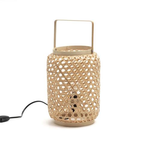 ou trouver lampe de bureau deco Lampe à poser en bambou