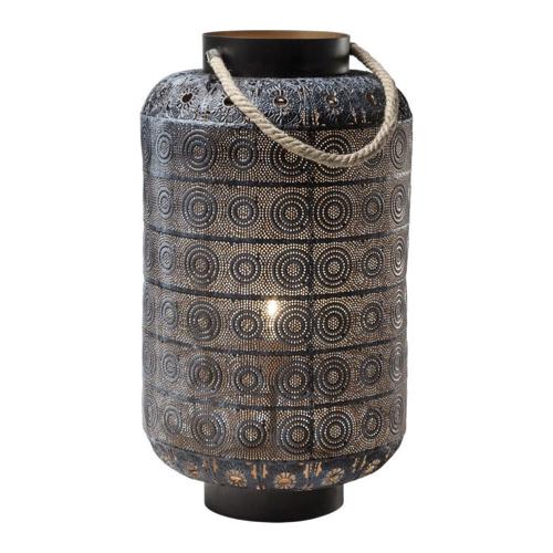 ou trouver lampe de bureau deco Lampe de table Sultan Home 59cm métal ajouré style oriental