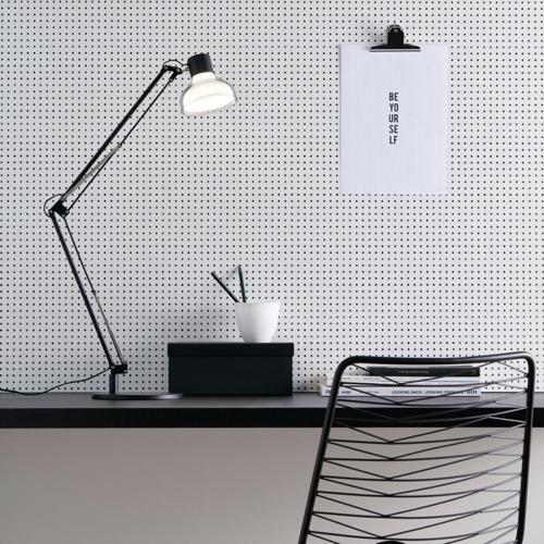 ou trouver lampe de bureau pas cher Lampe de bureau en pvc noir