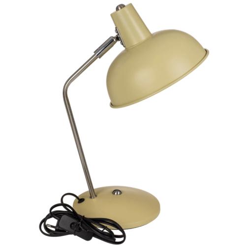 ou trouver lampe de bureau pas cher Lampe de bureau en métal crème