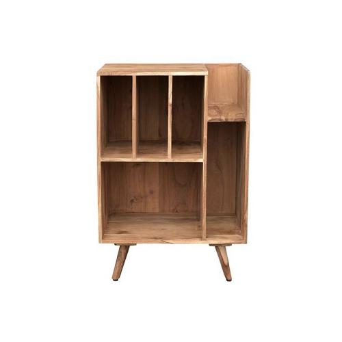 ou trouver rangement vinyles petit meuble pratique en bois casiers