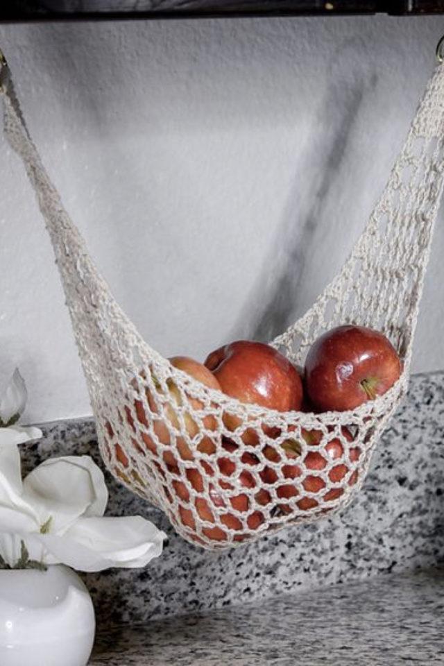 marcrame cuisine fruit et legumes petit hamac à faire soi même alternative petit espace